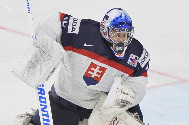 Na tohtoročnom svetovom šampionáte odchytal Ján Laco zápas proti Lotyšsku.
