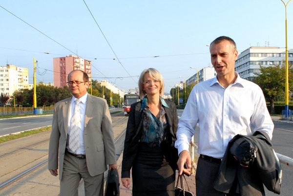 Lazúr, Lenártová a Raši. Ako tím šéfujú mestu už siedmy rok. Budú spolu aj o rok?