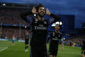 Isco patril k najdôležitejším mužom madridského derby.