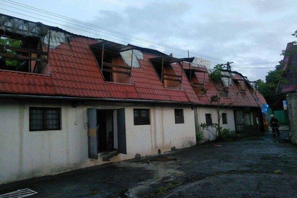 Dom zrejme niekto úmyselne podpálil.