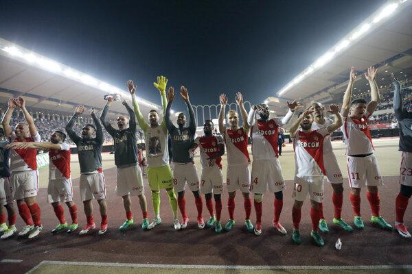 Futbalisti AS Monako zdolali Dijon 4:0.