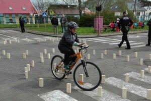 Deti museli predviesť zručnosť jazdy, znalosť pravidiel aj povinnej výbavy. (FOTO: OR PZ RK)