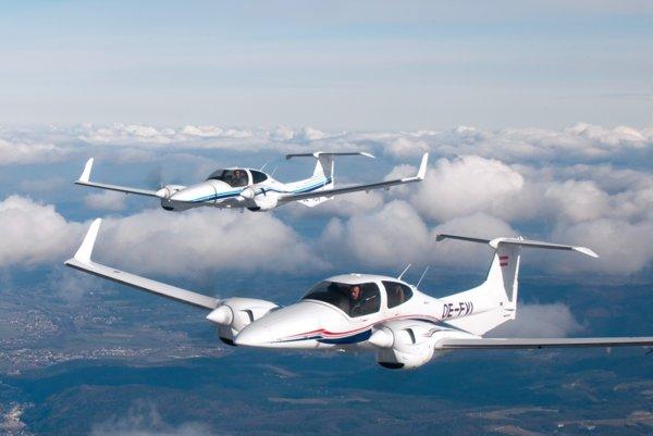 Nehodu mal Ladislav Fico spôsobiť dvojvrtuľovým lietadlom Diamond.