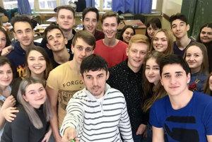 Selfie s obľúbenou triedou.