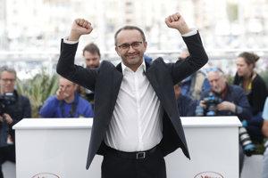 Ruský režisér Andrej Zvjagincev v Cannes.
