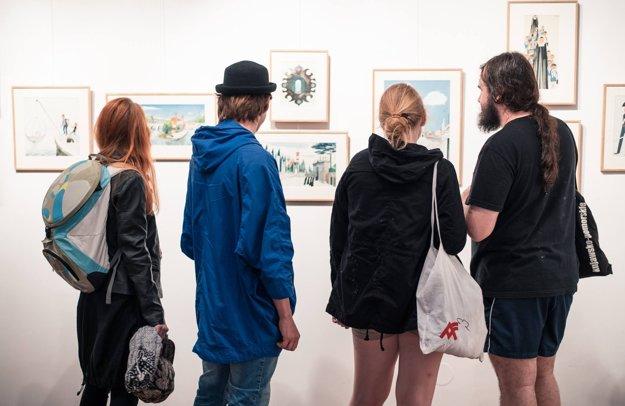 Súčasťou festivalu BRaK 2016 bola aj výstava legendárnych ilustrácií M. Šašeka