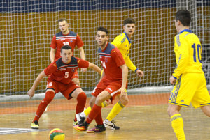 Slovenskí futsalisti nestačili na Ukrajinu. Ukrajine podľahli voboch stretnutiach.