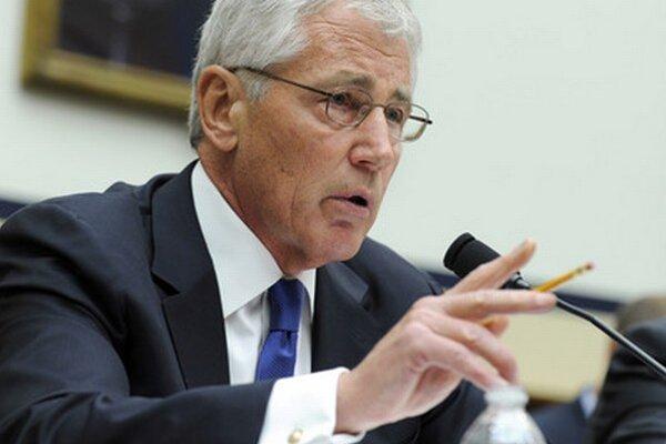 Minister obrany USA Chuck Hagel.