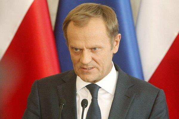 Poľský premiér Donald Tusk.