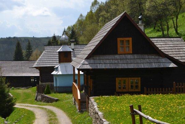 Osada Kysuca - raj ukrytý v lone hôr.