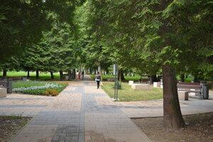 Fiľakovský park.