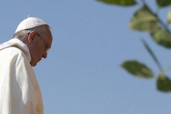 Pápež František v Kalábrii.