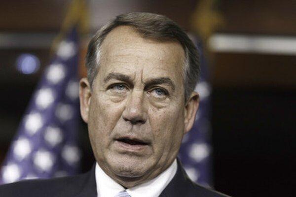 Predseda americkej Snemovne reprezentantov John Boehner.