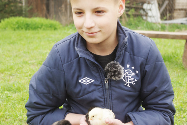 Michal má zvieratá veľmi rád už odmalička.