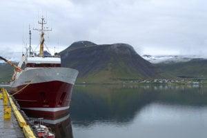 Islandská príroda.