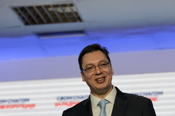 Aleksandar Vučič.