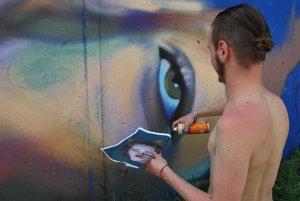 Legálne graffiti tvorili writeri z celého Slovenska.