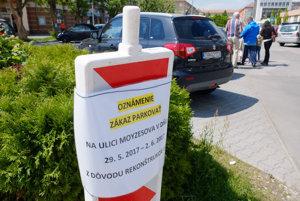 V najužšom centre Žiaru budúci týždeň nezaparkujete.