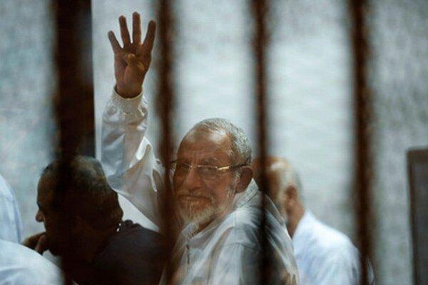 Pred niekoľkými dňami odsúdili na smrť vodcu Moslimského bratstva Muhammada Badího.