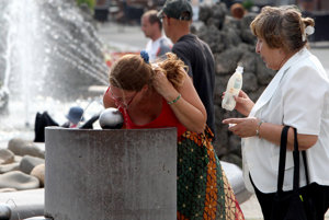 Tropický deň priniesol rekordné teploty v Česku i Nemecku