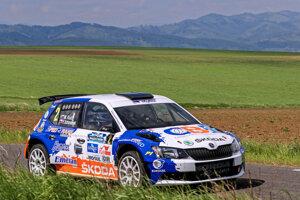 Od víťazstva ho delila menej ako sekunda. Martin Koči na Rallye Tatry tuho bojoval.