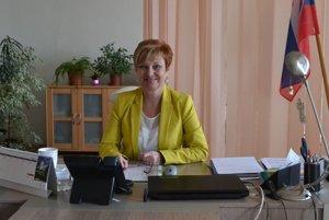 Lívia Koóšová, riaditeľka Úradu práce, sociálnych vecí a rodiny v Rimavskej Sobote.