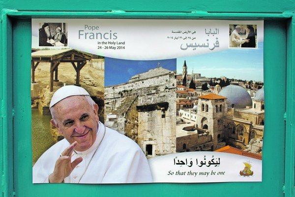 Návšteva pápeža Františka robí starosti bezpečnostným silám.