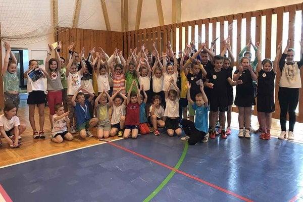 Turnaja sa zúčastnilo viac ako 50 detí.