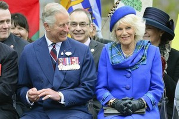 Princ Charles s manželkou Camillou.