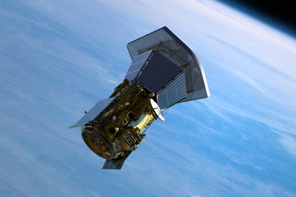 Parkerova slnečná sonda opúšťa Zem. Vizualizácia.