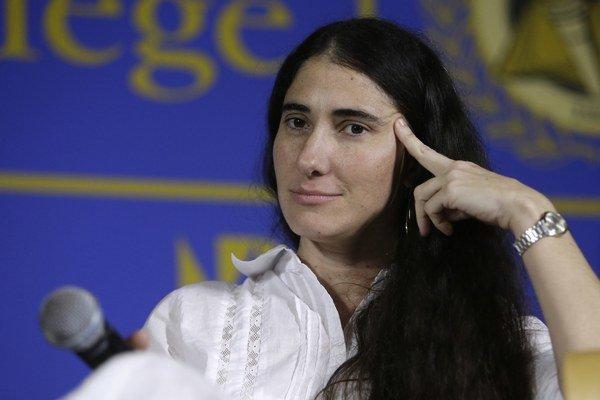 Disidentka a blogerka Yoani Sánchezová.