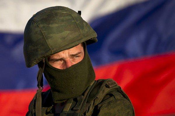 Ruský vojak v Perevalnom.
