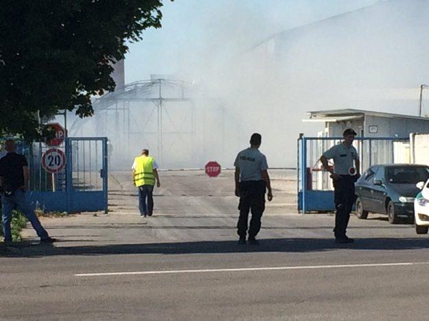 V Šuranoch vypukol požiar