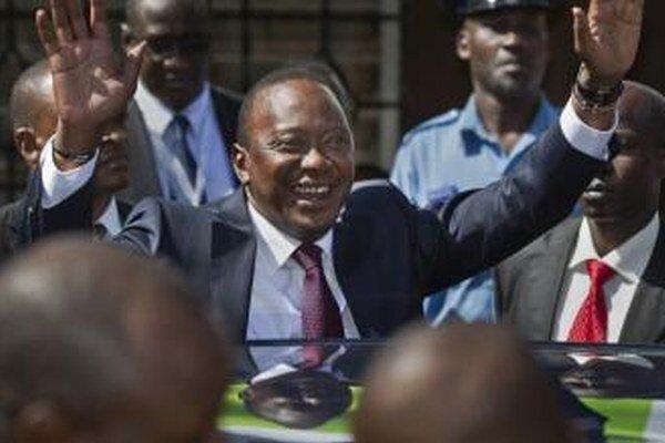 Kenský prezident Uhuru Kenyatta.