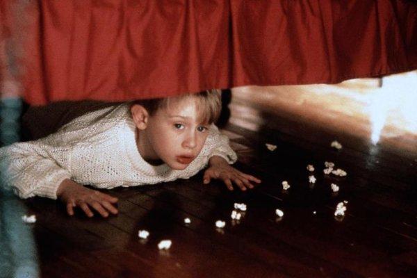 Macaulay Culkin vo filme Sám Doma.