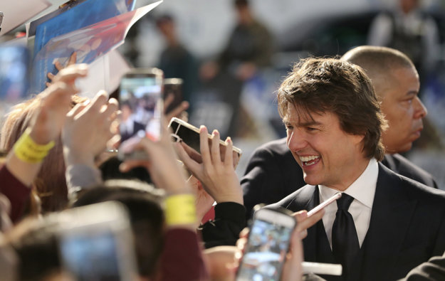 Tom Cruise dnes.