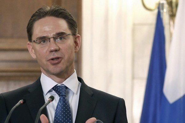Fínsky premiér Jyrki Katainen.