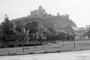 Trenčiansky hrad. (1958)