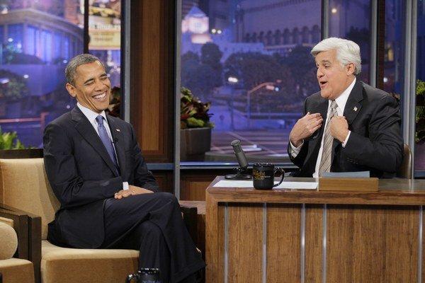 Obama sa celkovo zúčastnil show Jay Lena štyri razy. Bill Clinton chodí skôr k Lettermanovi, u ktorého bol desaťkrát.