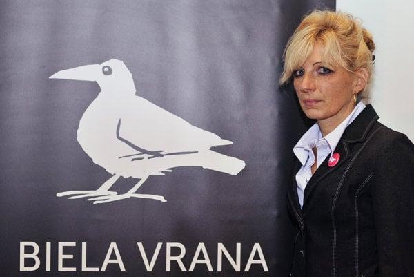 Laureátka ocenenia Biela vrana, bývalá kontrolórka Národného lesníckeho centra Ľubica Lapinová.