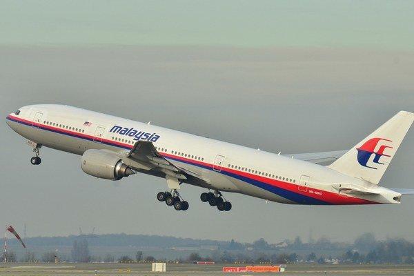 Boeing 777-200 Malajzijských aerolínií.