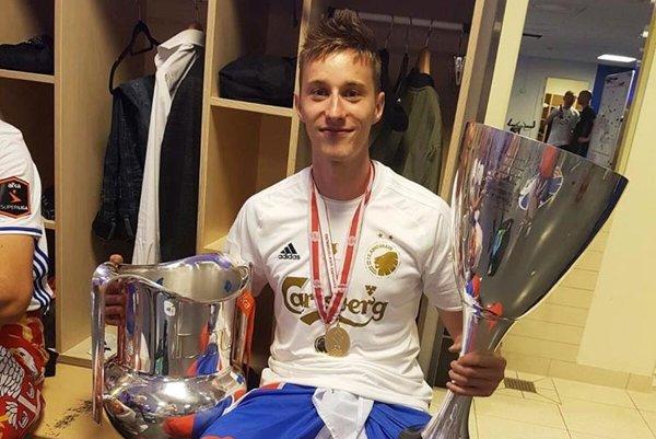 Ján Greguš oslavoval s tímom FC Kodaň double.