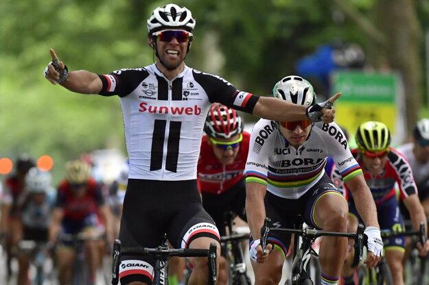 Michael Matthews bude najväčším konkurentom Petra Sagana v boji o zelený dres.