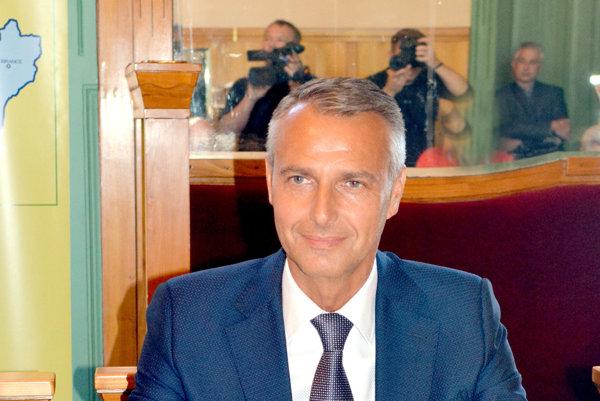 Primátor Košíc. Richard Raši.