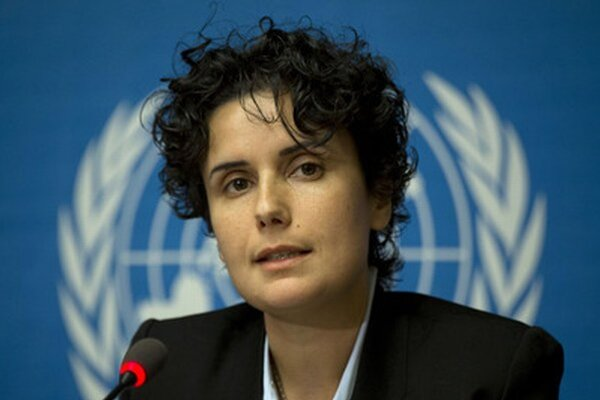 Sýrska aktivistka Kifáh Alí Díbová.