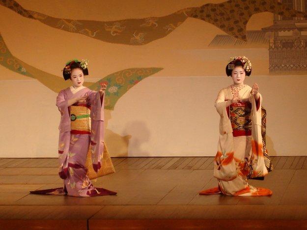 Geiko a maiko
