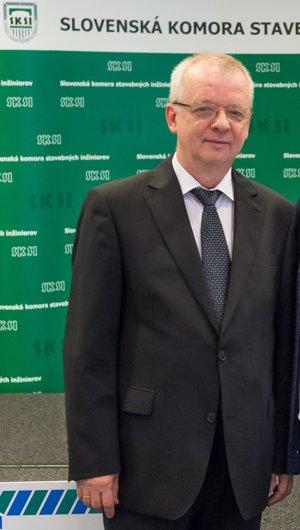 Vladimír Benko, predseda Slovenskej komory stavebných inžinierov