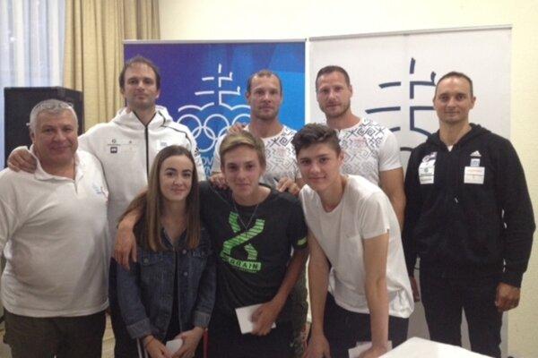 Úspešní riešitelia súťaže sa stretli s olympionikmi.