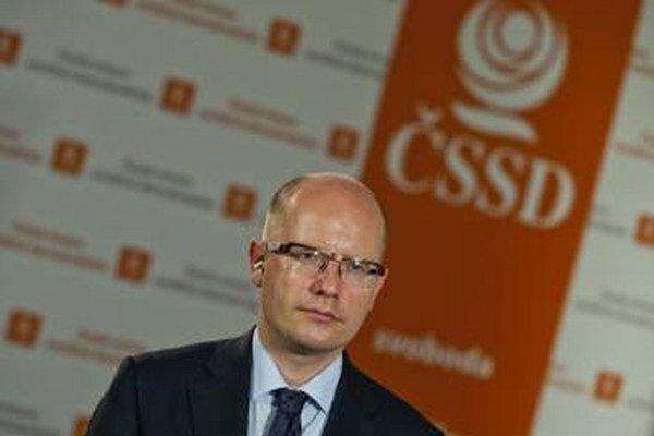 Predseda ČSSD Bohuslav Sobotka.
