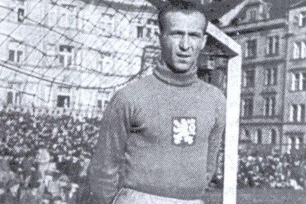 Brankár Karel Horák, odchovanec košického ČsŠK.